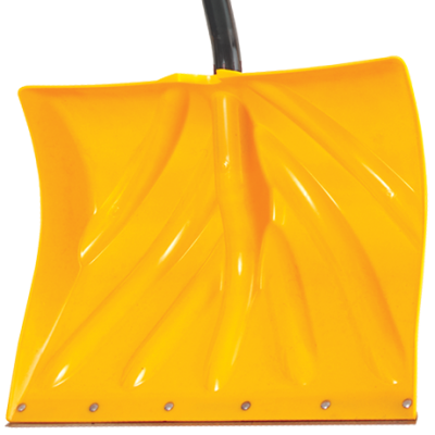 snow shovel, poly shovel
