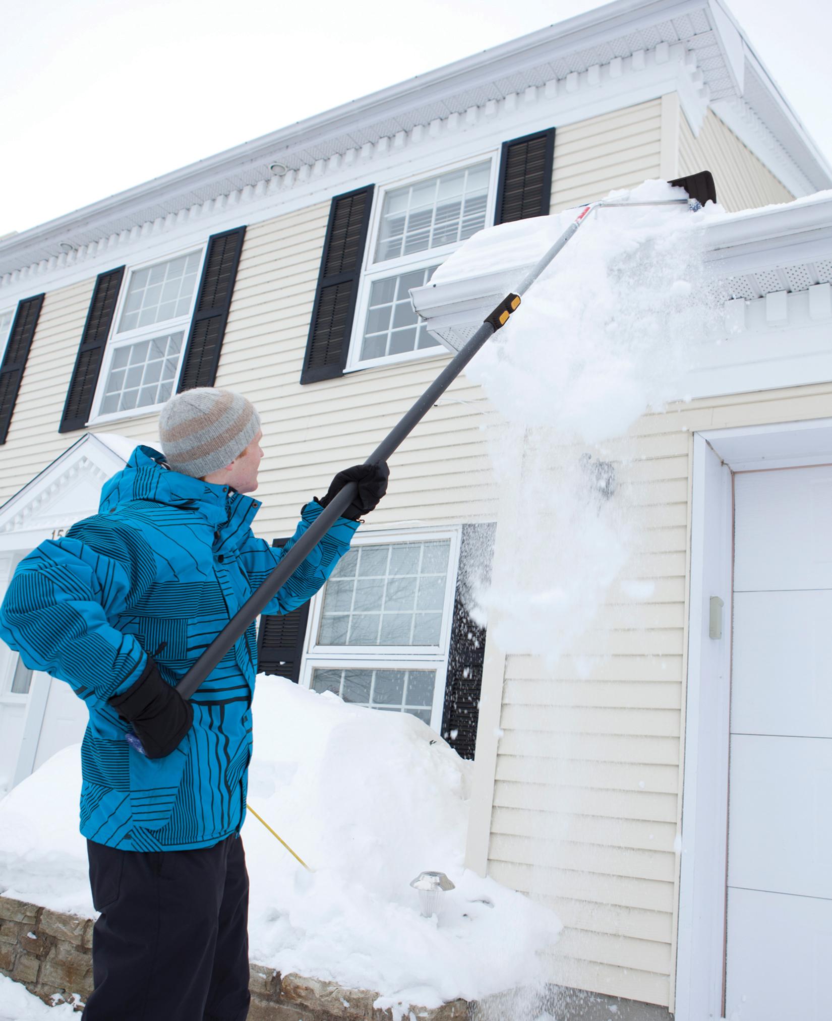 Telescoping Snow Roof Rake True Temper 174 Tools
