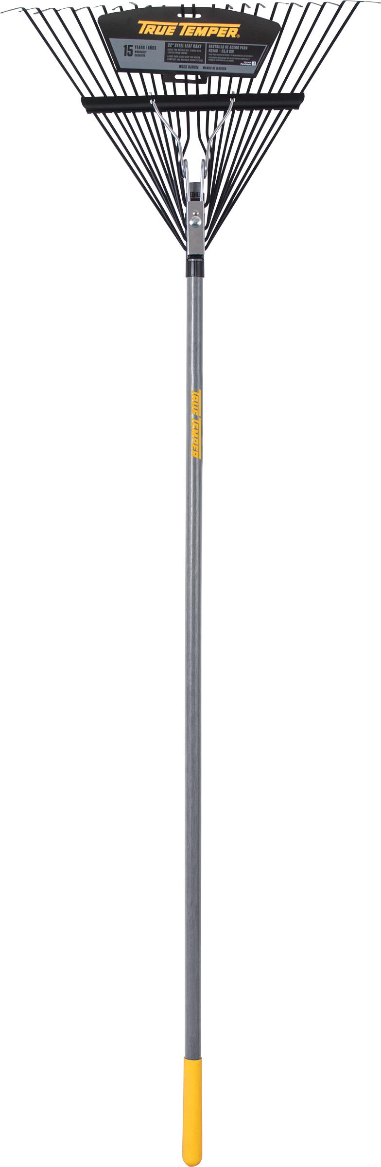 22 Inch Steel Leaf Rake True Temper 174 Tools