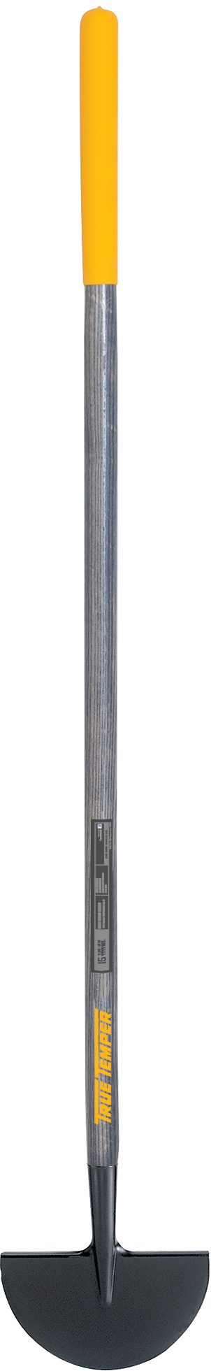 Turf Edger With Cushion Grip On Hardwood Handle True
