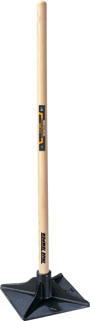 8 Inch X 8 Inch Tamper With Hardwood Handle True Temper