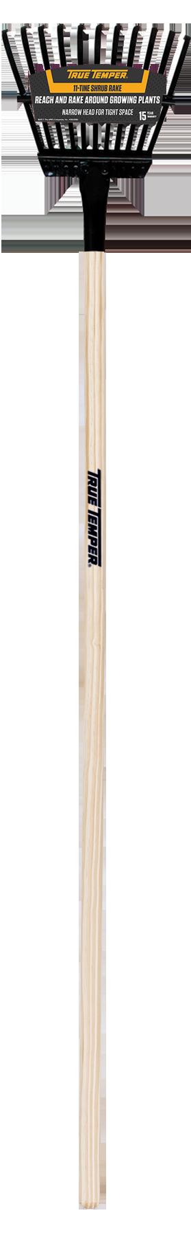 8 Inch Steel Tine Shrub Rake True Temper 174 Tools